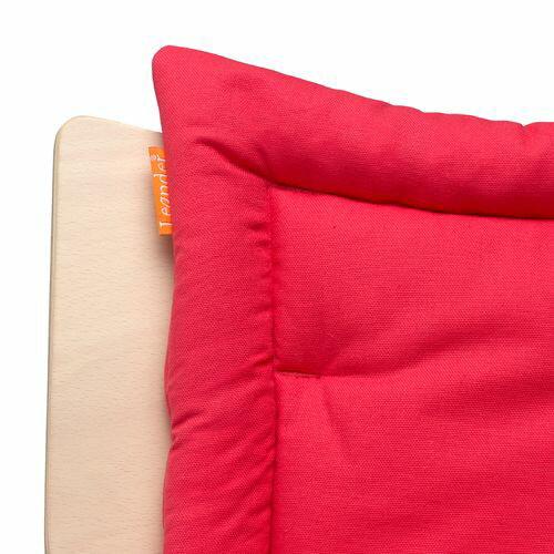 Leander 新款二代 成長型高腳餐椅坐墊-覆盆莓(覆盆子紅)★愛兒麗婦幼用品★