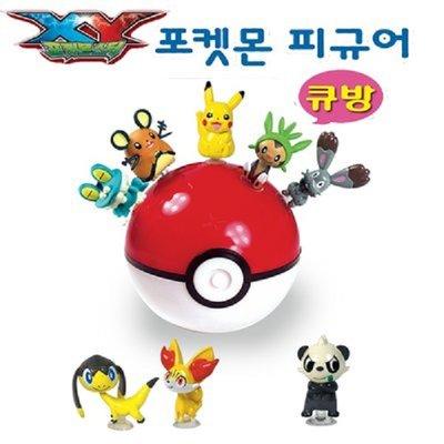 有樂町進口食品 韓國進口 熱門手遊 神奇寶貝 寶可夢 皮卡丘 公仔寶貝球 隨機出貨 K65 8809040191585