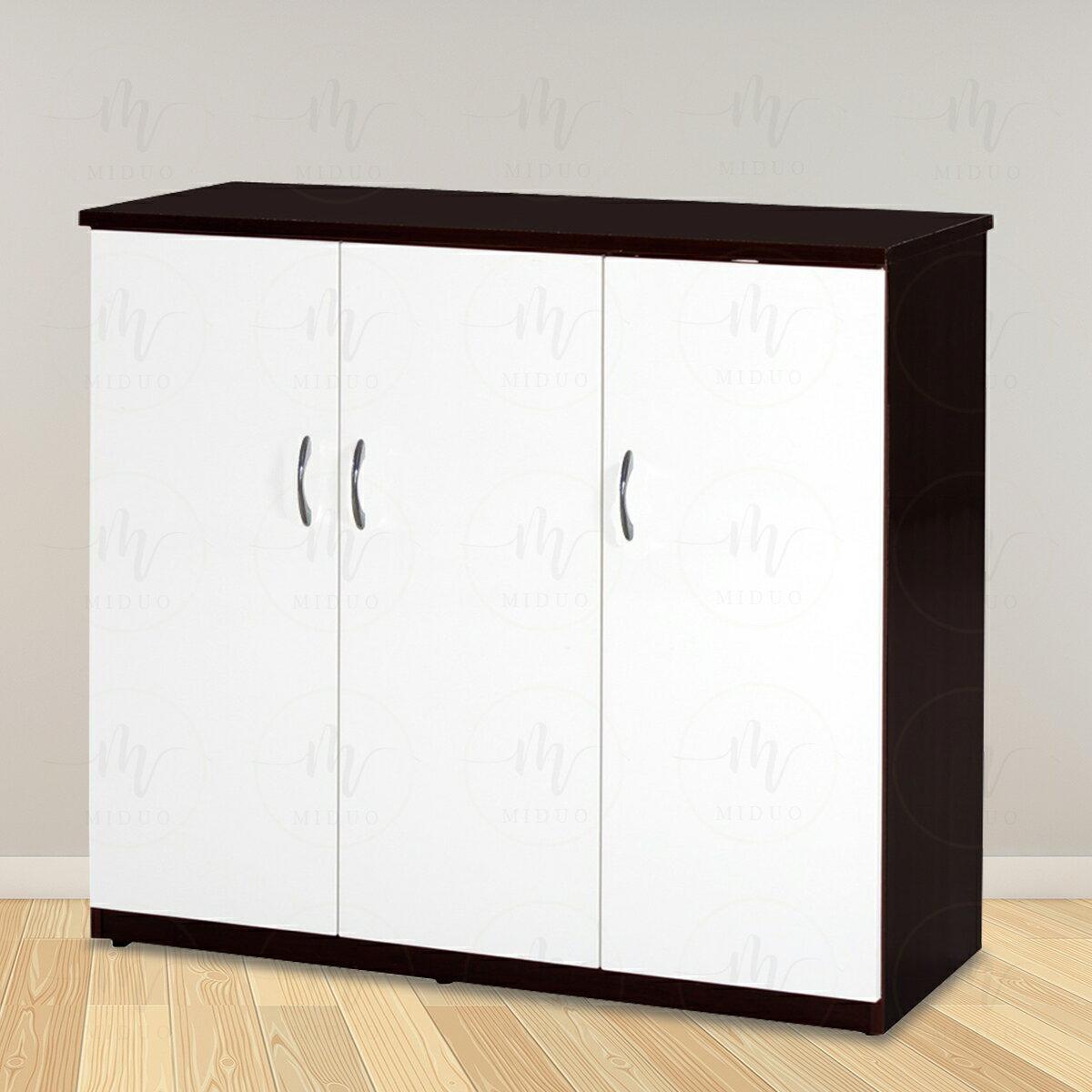 3.2尺三門塑鋼鞋櫃 防水塑鋼家具【米朵Miduo】