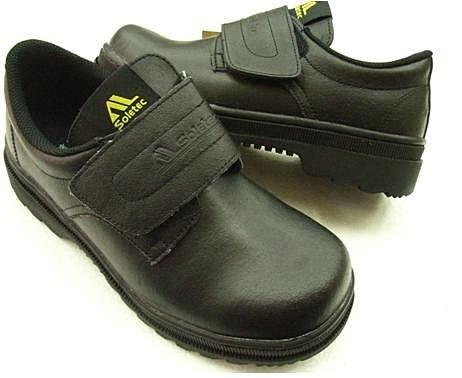 ※555鞋※鐵客 魔鬼氈安全鞋 1066 耐滑大底 工作鞋 鋼頭鞋 台灣製造~品質保證※贈送襪子~有加大尺碼