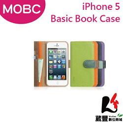 ✿3月APP限定單筆消費滿千領券折百✿Apple iPhone 5 MOBC Basic Book保護套