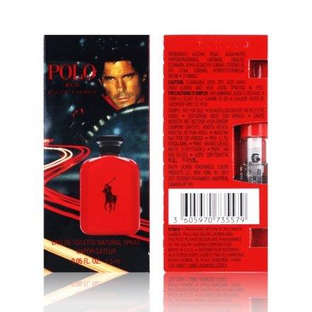 Ralph Lauren Romance 紅色馬球男性試管香水 1.5ml【櫻桃飾品】【27897】