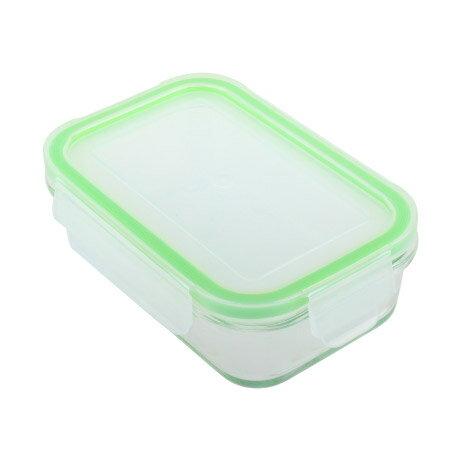 耐熱玻璃保鮮盒 400ml 長方形 NITORI宜得利家居