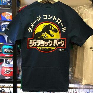 BEETLE PLUS:BEETLEBAITXJURASSICPARKTEE聯名侏儸紀公園恐龍日文藍藍黃MXL