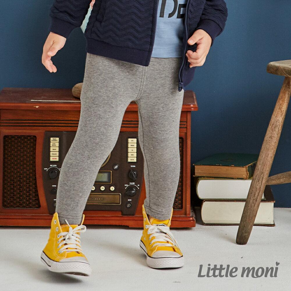 Little moni 內刷毛合身褲-灰色(好窩生活節) 1