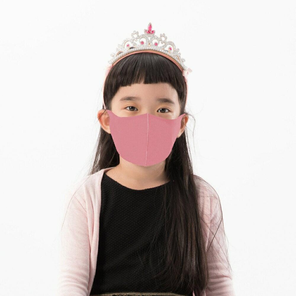 【Prodigy波特鉅】2色可選─兒童款抗UV3D立體透氣口罩1入組