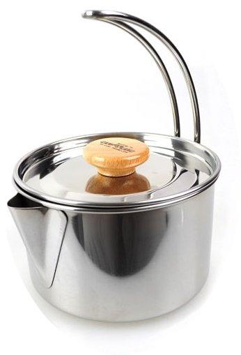 【CAMP-LAND】RV-ST250 不鏽鋼 燒水壺 茶鍋 煮咖啡 泡麵 湯鍋.水壺 開水 泡茶