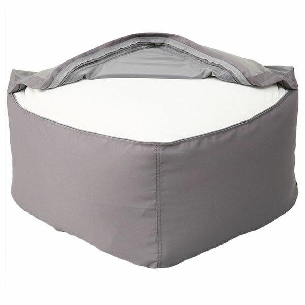 標準型懶骨頭沙發專用布套 (本體另售) SOLID2 R GY NITORI宜得利家居 4