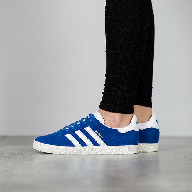 ADIDAS ORIGINALS GAZELLE 經典款 藍白 女鞋 US Y4~7 BB2501 E倉
