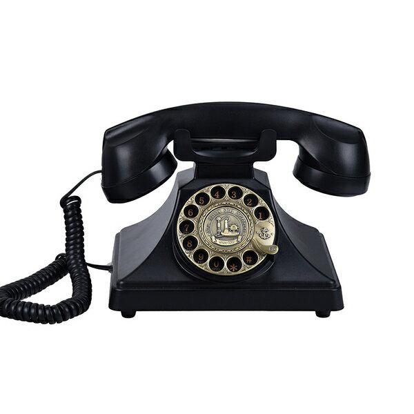 <br/><br/>   古制工藝-古董旋轉撥號仿古老式電話機復古轉盤座機十天預購+現貨<br/><br/>