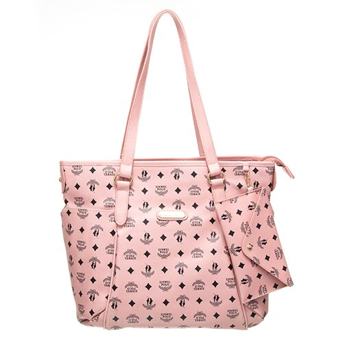 【XINWEI POLO】奢華LOGO風雙側口袋包款附零錢包-6318-粉