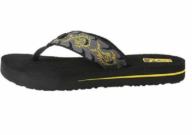 (陽光樂活) (特)TEVA 織帶拖鞋MUSH K 記憶鞋床TV1000191PHCY (US1=19CM)