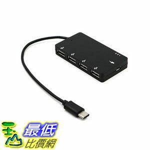 [106玉山最低網] Type-c介面的OTG線 帶供電充電 同時數據 安卓手機 多口USB分線器HUB( G18)