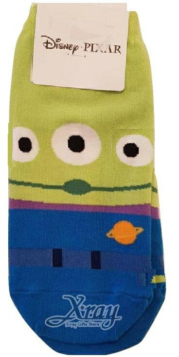 X射線【C691486】三眼怪Little Green Men KISS SOCKS短襪,短襪 / 船型襪 / 卡通襪子 / 運動襪 / 長襪 - 限時優惠好康折扣