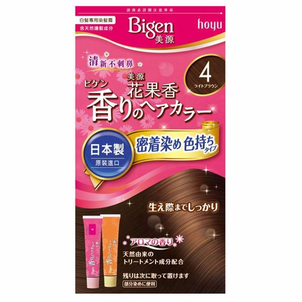 安康藥妝:【美源】花果香快速染髮霜4亮棕色
