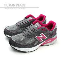 New Balance 美國慢跑鞋/跑步鞋推薦NEW BALANCE 990系列 美國製 皮革 網布 麂皮 舒適 抗震 頂級跑鞋 戶外休閒鞋 灰 女款 no530