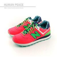 New Balance 美國慢跑鞋/跑步鞋推薦NEW BALANCE 574系列 休閒鞋 螢光桃 女款 no744