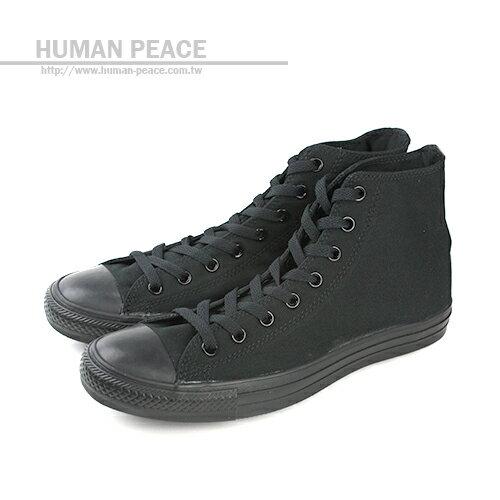 CONVERSE CTAS 帆布 舒適 高筒 基本款 戶外休閒鞋 黑 男女款 M3310C no006