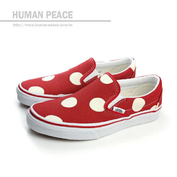 VANS Classic Slip-On 懶人鞋 滑板鞋 紅 女款 no395