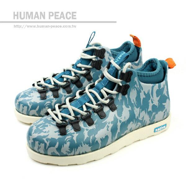 native FITZSIMMONS 靴子 藍 男女款 no259