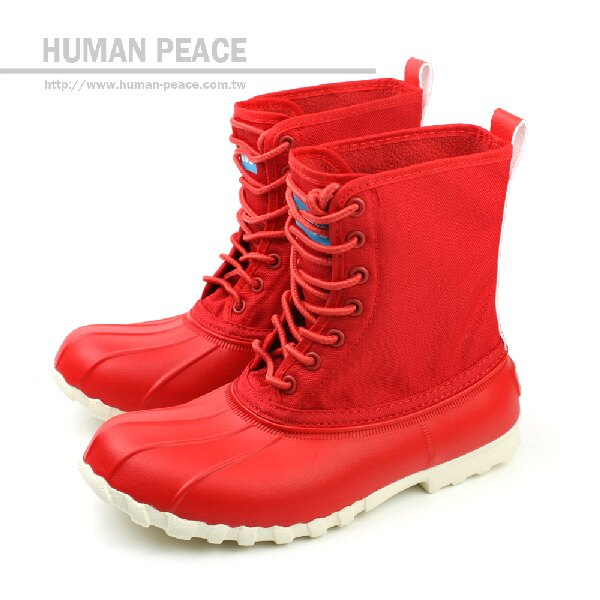 native JIMMY 靴子 紅 男女款 no260