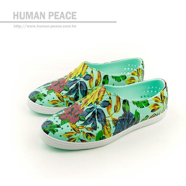 HUMAN PEACE:nativeJERICHO洞洞鞋綠女款no300