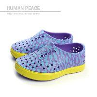 native 輕量懶人鞋、休閒防水鞋到native MILLER CHILD 洞洞鞋 紫 小童 no312