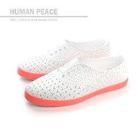 native 輕量懶人鞋、休閒防水鞋到native JERICHO 洞洞鞋 白 女款 no315