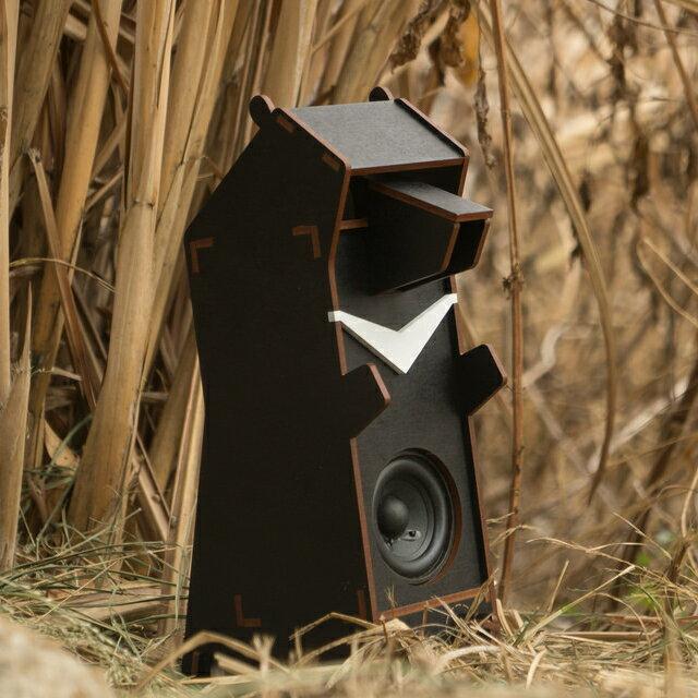 Stereo Puzzle 立體拼圖音響|台灣黑熊 單聲道