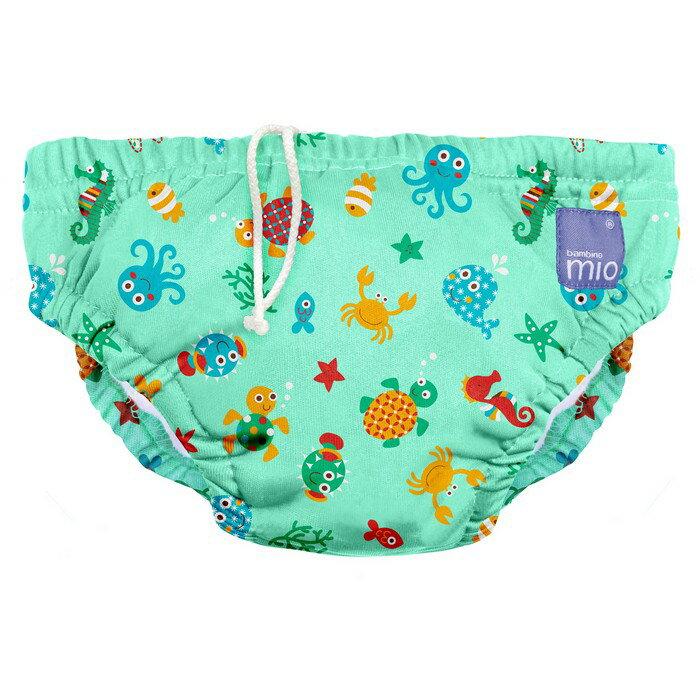 【淘氣寶寶】Bambino Mio 尿片泳褲- 小號 5-7 公斤 - 海洋世界 Under the sea【保證原廠公司貨】