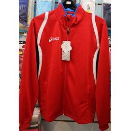 [陽光樂活] ASICS K11503-2350 運動針織外套 (紅)