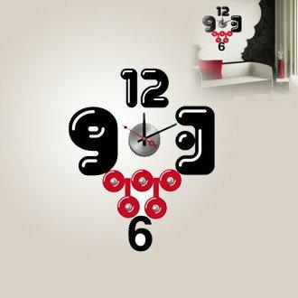 【日本Wall-Deco】創意壁紙時鐘-瘋搖滾
