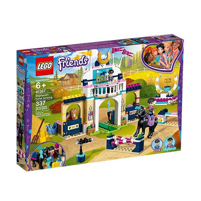 41367【LEGO 樂高積木】姊妹淘 Friends 系列 - 斯蒂芬妮的騎馬跳欄賽(337pcs)