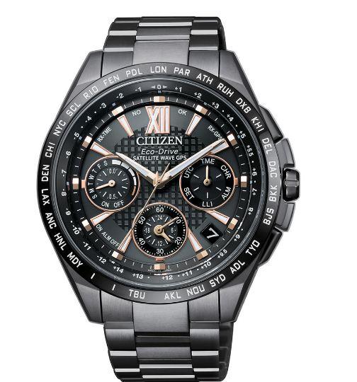 清水鐘錶 CITIZEN 星辰 CC9017-59G Eco-Drive 光動能 旗艦款GPS衛星鈦金屬計時腕錶 44mm