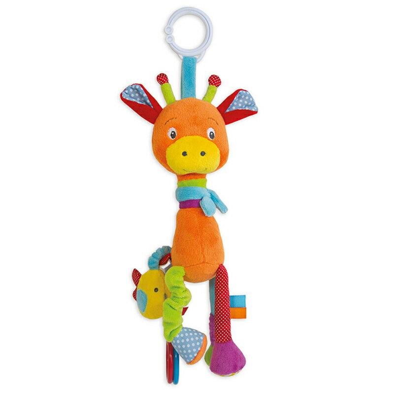 法國~Doudou~花花長頸鹿玩具遊戲布偶30cm  TC155