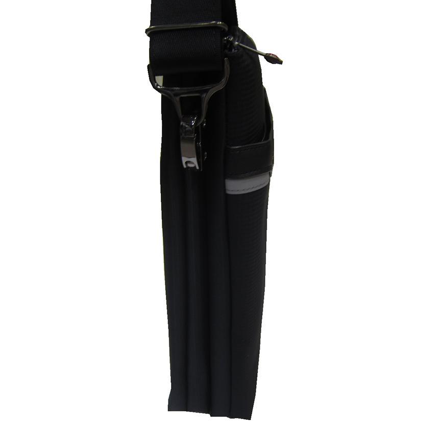 限時 滿3千賺10%點數↘ | ~雪黛屋~OVER-LAND 肩側包中容量主袋+外袋共五層扁型包設計三層主袋口防水尼龍布+皮革中性款男女適用T5361