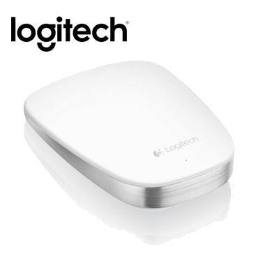 羅技 T630 觸控滑鼠-白
