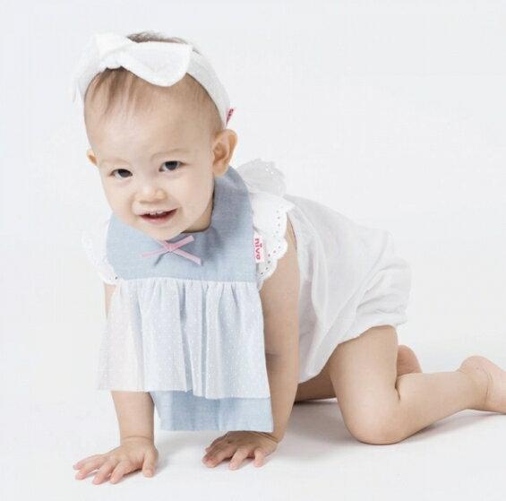 NIVA嬰幼兒超可愛髮帶(米色點點)