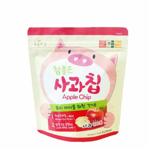 韓國【NaturalChoice】自然首選7M+動物園幼兒蘋果脆片果乾嬰幼兒副食點心即食包