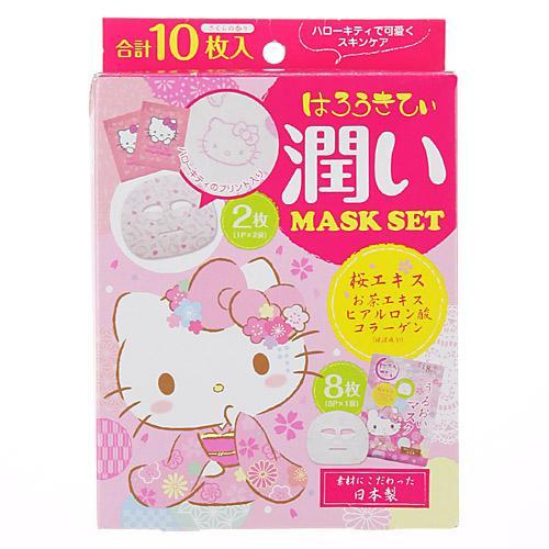 ~百倉 舖~ 製 造  超 Hello Kitty保濕面膜^(櫻花香^)淡雅清香  滋潤保