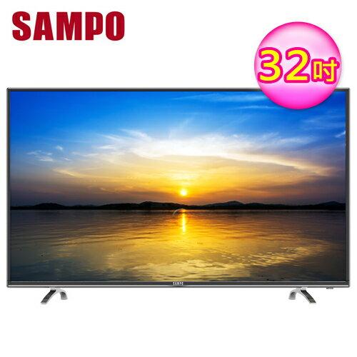 SAMPO 聲寶 32吋 LED液晶電視 EM-32AT17D【三井3C】