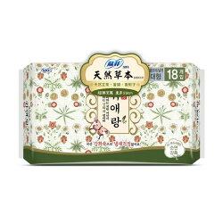 蘇菲 天然草本 衛生棉29cm 18片【德芳保健藥妝】