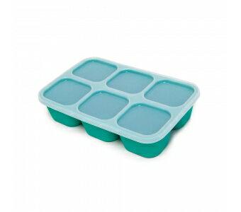 加拿大 MARCUS  MARCUS 動物樂園 矽膠副食品分裝保存盒-大象(綠)★愛兒麗婦幼用品★