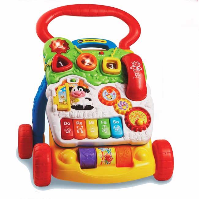 美國【Vtech】寶寶聲光學步車