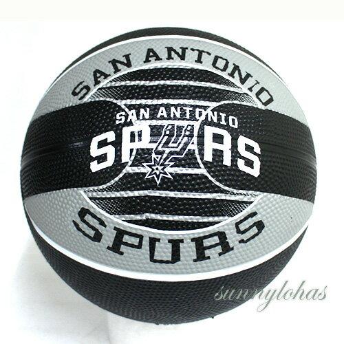 【SPALDING斯伯丁】NBA籃球Jr兒童3號球Spurs馬刺隊徽SPA83615[陽光樂活]