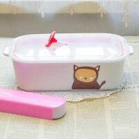 野餐盒不可缺單品陶瓷便當盒 分格飯盒 保鮮盒 微波爐飯盒 餐盒 水果盒 野餐 露營陶瓷分格 陶瓷分隔 /冰箱冷藏保鮮/微波爐加熱 /貼心分隔款,可防串味與油膩