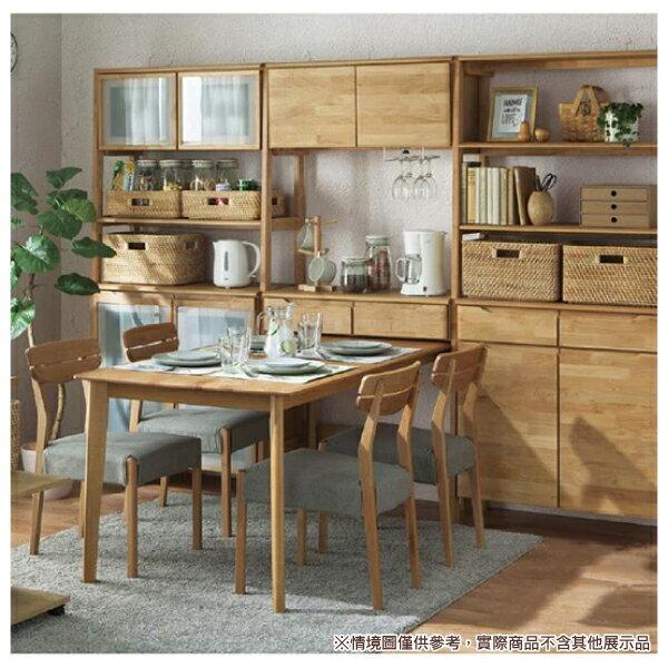 ◎實木餐桌 ALNUS 18080 LBR 榿木 NITORI宜得利家居 5