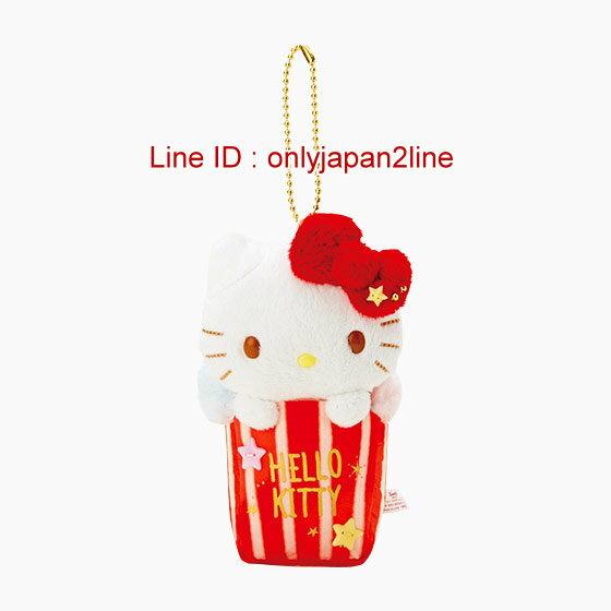 【真愛日本】4901610312728 珠鍊吊飾娃-KT三麗鷗 Hello Kitty 凱蒂貓 鑰匙圈 吊飾 掛飾