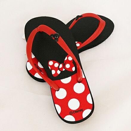 【敵富朗超巿】正版米奇米妮夾腳拖鞋-40 3