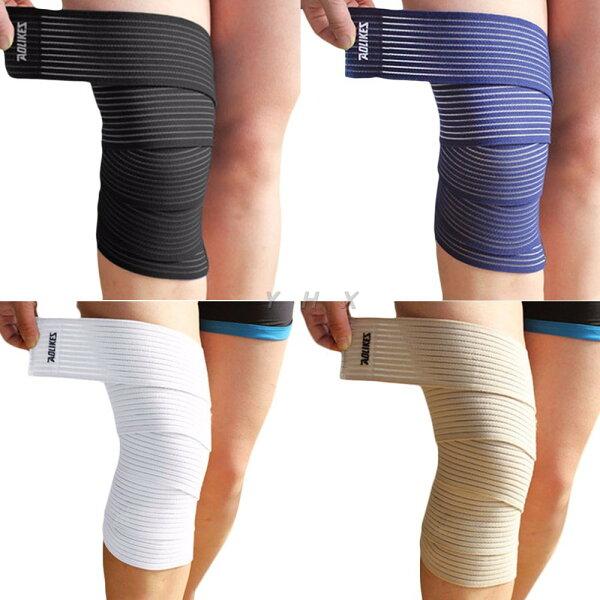 多功能運動繃帶高彈力繃帶、護膝、纏繞式繃帶、護腿、各類運動、防止拉傷、運動防護